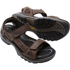 Keen Rialto 3 Point Sandals Men Dark Earth/Black